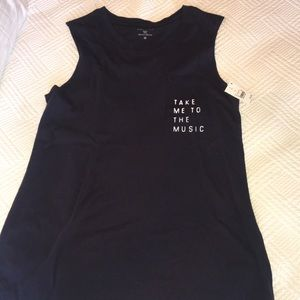 Tops - Take Me To The Music Tank Top